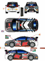 1/43 Decal Citroen C4 WRC #1/6 Rally Var/Como 2012