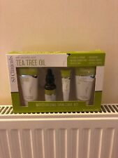 S J Clinicals with ascorbic acid tea tree oil set 4 items new RRP £40!