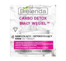 BIELENDA CARBO DETOX WHITE COAL MOISTURISING & DETOX FACE CREAM HIT!