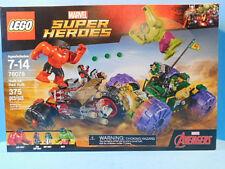 Lego Marvel Super Heroes 76078 Hulk vs Red Hulk 375  Pieces New!