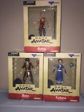 DIAMOND SELECT AVATAR THE LAST AIRBENDER KATARA ZUKO KATARA ACTION FIGURES NEW