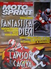 Motosprint 44 1990 Lawson si alla Cagiva. Nuova Bimota. Roche e la Ducati [Q78]