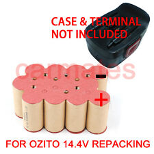 Battery Rebuild Pack For OZITO 14.4V 2.0Ah Ni-Cd OZCD144V1BK OZCD144V2BK