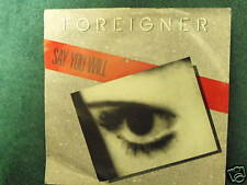 Foreigner-Say You Will/A Night To Remember