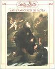 STAMPA SU CARTONCINO IMMAGINE SACRA - SAN FRANCESCO DI PAOLA - CM. 19x24
