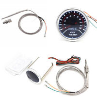 "2 ""Auto LED-Anzeige Abgas Temperatur Meter EGT Messgerät mit Sensor 200-1200 ℃"