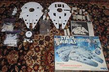 MPC Star Wars Model Kit Han Solo's Millennium Falcon Illuminated  Vintage 1979