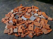 1 Sac de 40 g 1:24th échelle réelle Brique & Pierre Miniature Builders décombres (15sq ins)
