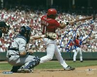 Barry Larkin 8 x10 Autographed Signed Photo ( Reds HOF ) REPRINT