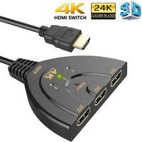 3 Port HDMI Switch 1.4b Switcher Splitter 1080P Hub for DVD HDTV Xbox PS3 PS4