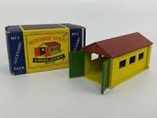 Original MATCHBOX MOKO LESNEY No 3 Accessory Pack Garage Building Diecast + Box