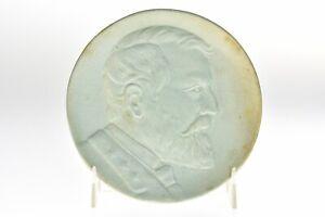 Weller Pottery 1904 St Louis Fair Souvenir Plate Ulysses S Grant