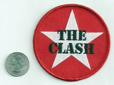 The Clash New sew or iron on Patch punk rock music band coat jacket