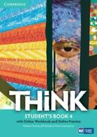 Think Level 4 + Online Workbook and Online Practice, Paperback by Puchta, Her...