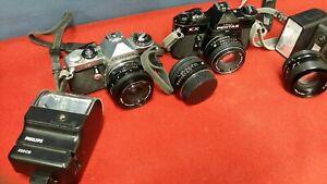 Asahi Pentax KX  35mm SLR Film Kamera + Smc 55mm F/1.8