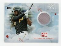 2020 Topps Holiday JOSH BELL Rare GAME JERSEY CARD SP #WHR-JE Pittsburgh Pirates