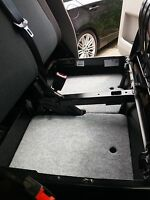 NEW ! VW T5 / T6 under seat storage shelf for double passenger seat