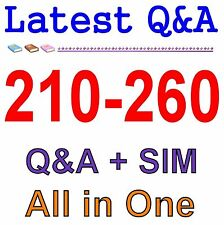Cisco Best Practice Material For 210-260 Exam Q&A PDF+SIM