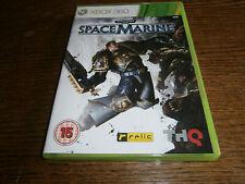 Warhammer 40,000 Space Marine (Microsoft Xbox 360, 2011) PAL