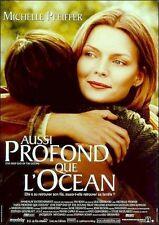Affiche Pliée 40x60cm AUSSI PROFOND QUE L'OCÉAN (1999) Michelle Pfeiffer BE