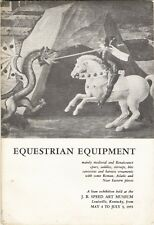 Equestrian Equipment Exhib.at Louisville Kentucky USA-1955(Cat-158 items+photos)