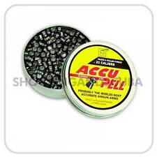 Webley Accu Pell .22 (5.5mm) ~ Tin of 500 pellets for Air Gun Rifle Pistol