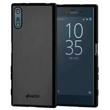 Pudding Soft TPU Skin Case for Sony Xperia XZ - Black