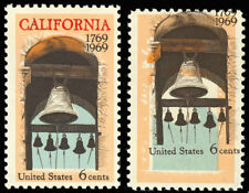 "1373 Red Color ""California"" MISSING From Stamp Major ERROR - MNH - Stuart Katz"