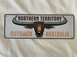 Outback Australia Novelty License Plate -Northern Territory -Wall Sign Free Post