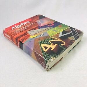 Algebra: Structure and Method Book 1 - Richard Brown, Textbook, POOR DESTROYED