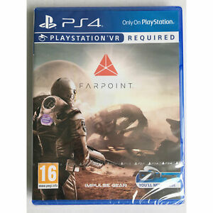 Farpoint VR (PS4) New & Sealed - PS Playstation VR Required