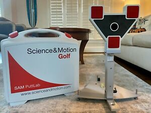 SAM Putt Lab, excellent cond. Used by competitive collegiate & junior golfers.