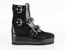 Authentic Loriblu Suede Italian Designer Boots Size 8