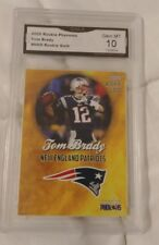 Tom Brady Rookie phenoms Rookie Gold Gm Mt 10 *Only 2000 made*