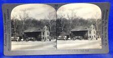 Washington D.C. Pierce Mill in Rock Creek Park Keystone Geography Stereoview