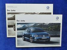 VW Jetta VI - Prospekt + Preisliste Brochure 02.2012