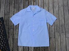 Vintage retro true 80s age 10 unused childrens boys top shirt NOS blue