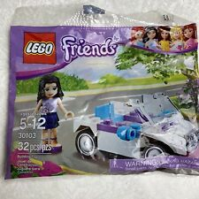 Lego Friends 30103 Emma's Convertible Car Promo Set, New & SEALED 2012 Retired
