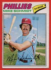 1977 O-PEE-CHEE #245 Mike Schmidt VG-VGEX WRINKLE Philadelphia Phillies FREE S/H
