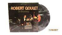 1965 Robert Goulet On Broadway Vinyl LP 33 Columbia CL 2418 Easy Listening
