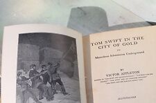 Vintage Tom Swift in the City of Gold by Victor Appleton, 1912 Hardcover