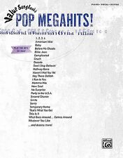 Value Songbooks - Pop Megahits Book *NEW* Piano, Vocal, Sheet Music, 46 Songs