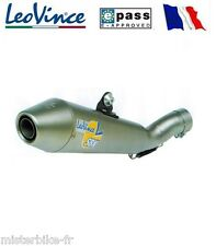 Pot Échappement Exhaust LEOVINCE Evo2 GPSTYLE INOX Yamaha YZF-R6 S 2007