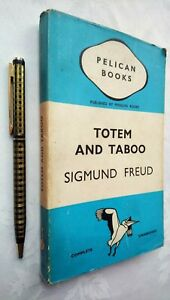 SIGMUND FREUD TOTEM AND TABOO 1ST/1 1938 PENGUIN PELICAN A33 JACKET LIKE UNREA