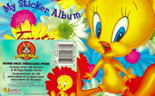 **RARE** Sandylion TWEETY BIRD LOONEY TUNES Album/Book WITH OVER 100 STICKERS