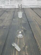 1 Pyrex Class A No 5640 10ml Volumetric Flask 8 Stopper And Extra Stopper