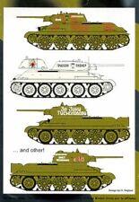 Authentic Decals 1/35 T-34/76 - 9 opciones # G302