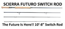 "SCIERRA FUTURO SWITCH FLY FISHING ROD WF8 10'8"" 4 SECTION SALMON TROUT SPEYCAST"