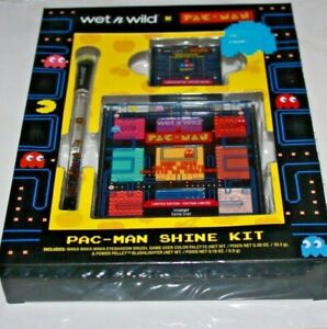 Wet n Wild X Pac Man 3 Piece Shine Kit ~Limited Edition~ New Sealed