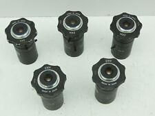 Cctv Lens 2Xh 6-60mm F1.4 Lot Of 5